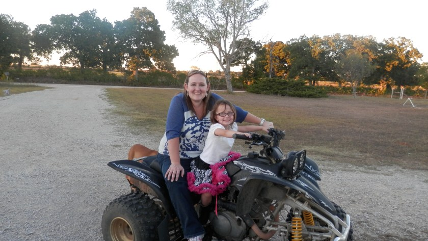 Sometimes I tell my daughter to be safe instead of brave