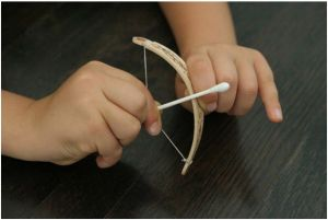 Popsicle Bow & Arrow Craft   Mom with a Prep