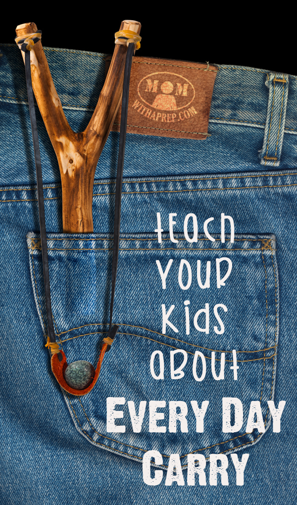 Teach your kids about Every Day Carry (EDC). They can learn about what items they should be carrying every single day in their pockets, that just might save a life someday.Teach your kids about Every Day Carry (EDC). They can learn about what items they should be carrying every single day in their pockets, that just might save a life someday.