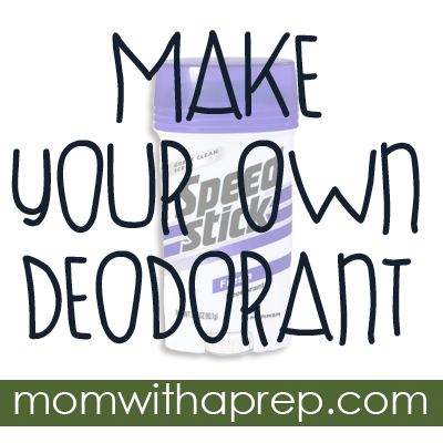How to Make Your Own Deodorant (and why you'd even want to) - {Mom with a Prep}