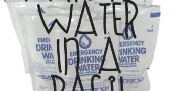 Goodbye Bottles – Emergency Water in a Bag!
