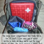 Mom with a PREP | My Day Bag Review - what it holds and how I organize it.