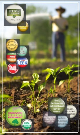 Top 10 Seed Catalogs for the PREPared Gardener - Seeds of Change | Mom with a Prep