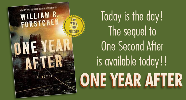 FINALLY! The day has arrived - the sequel to One Second After is here! ONE YEAR AFTER! Run and get it and find out what's happened since!