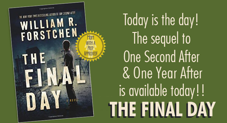 One Second After has come to a conclusion with William Forstchen's new book, The Final Day. This series has changed our life...and I can't recommend it enough!