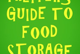 The Prepper's Guide to Food Storage: A Book Review