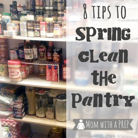 It's time to Spring Clean that Pantry! Yep, it's time to clean, take stock of your food storage, and begin to SEE what you have in your pantry. Really, it won't hurt much! srcset=