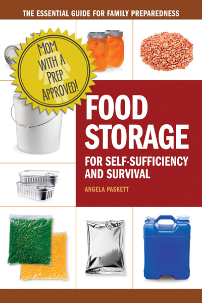 Food Storage for Self-Sufficiency is THE book to keep in your PREParedness library for Food Storage. It's Mom with a PREP approved!