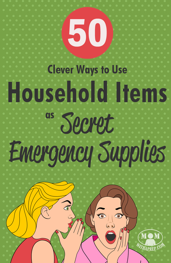 Don't throw away that broom; that single sock has a purpose; put those plastic soda bottles to work with these 50+ clever ways to use household items as secret emergency supplies!