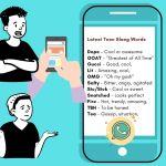 Teen slang words