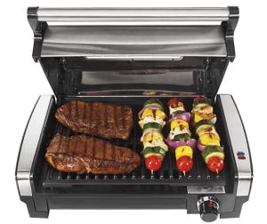 indoor grill smokeless nonstick