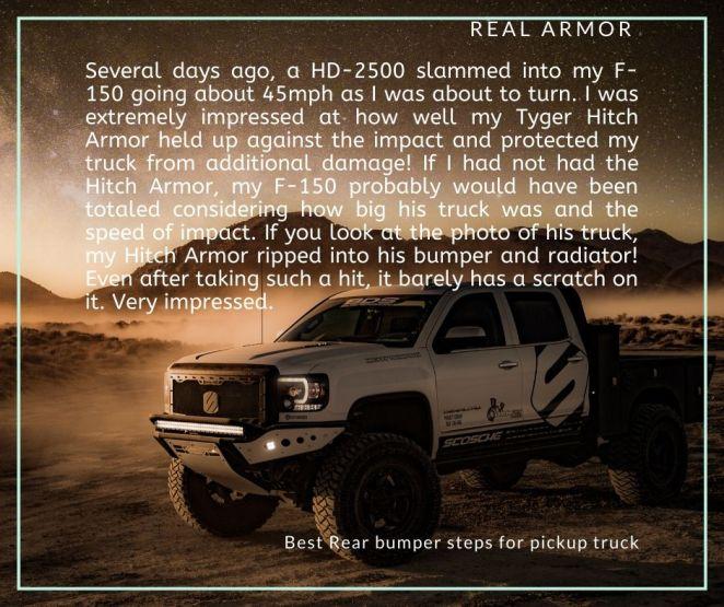 rear step for trucks