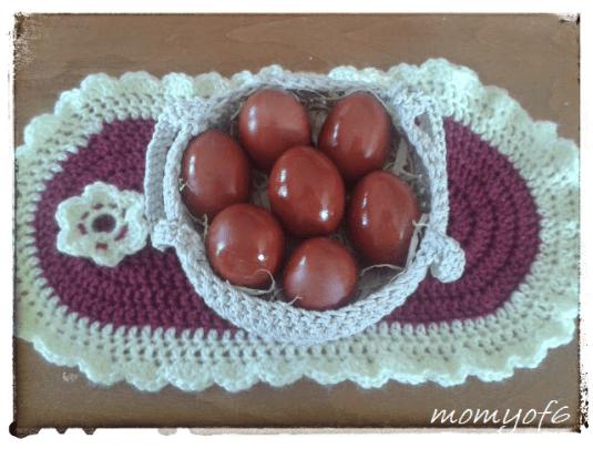 Βάφουμε κόκκινα αυγά με παραδοσιακό τρόπο!