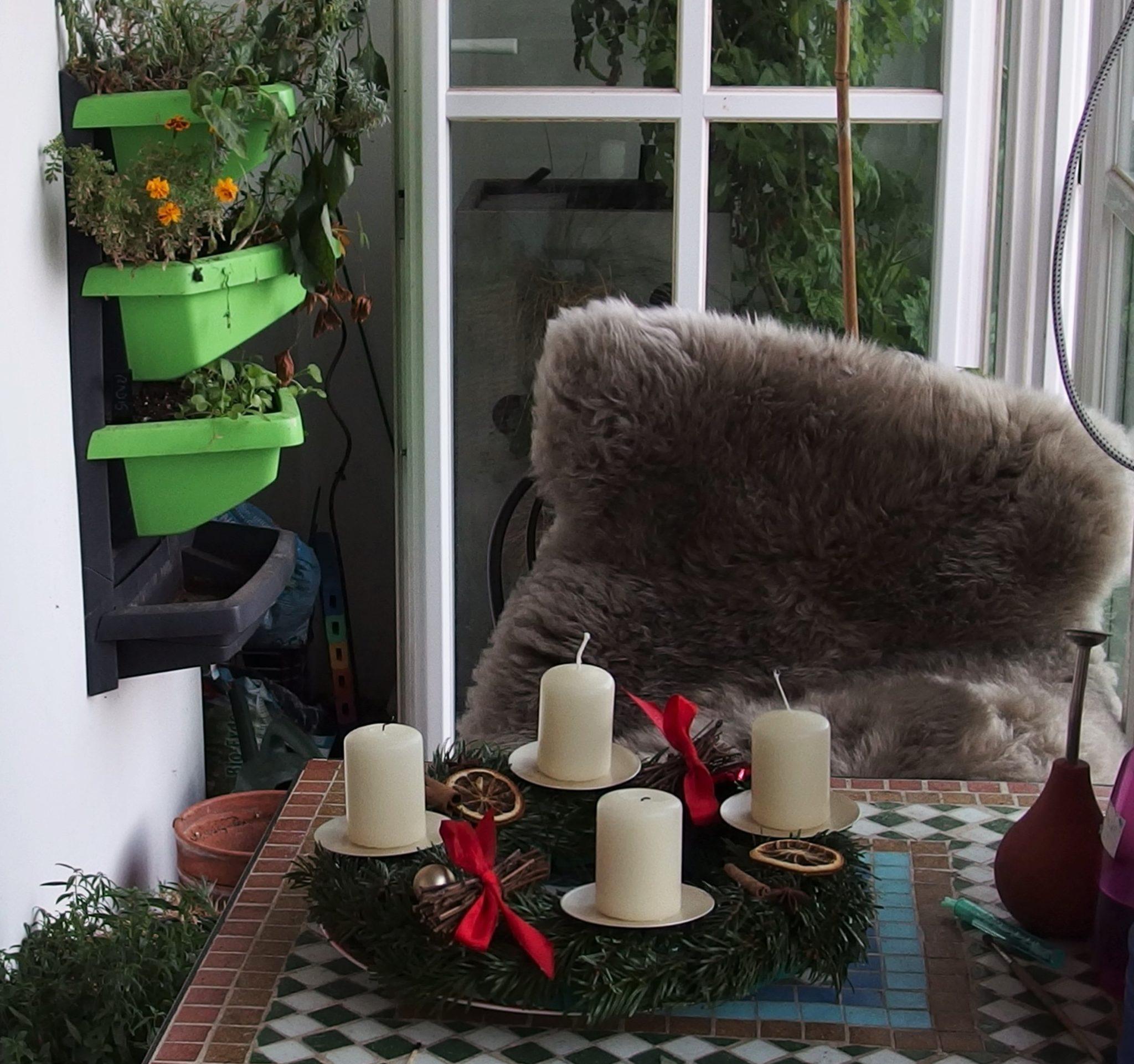 Défi balcon-jardin en décembre