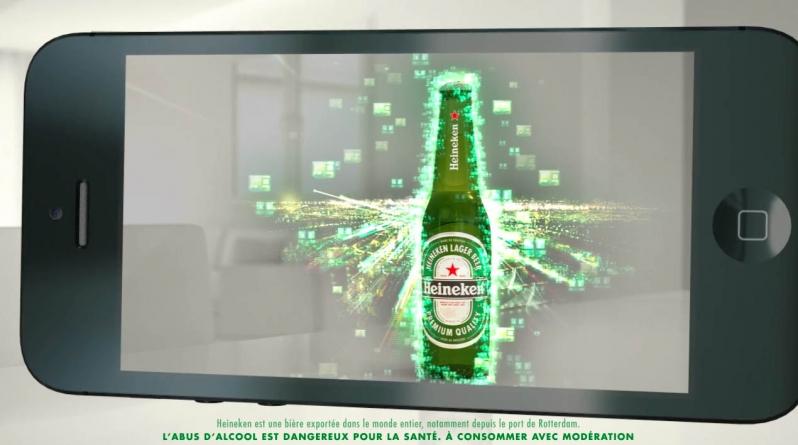réalité augmentée Heineken