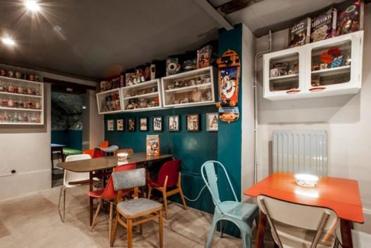Bar à céréales décoration