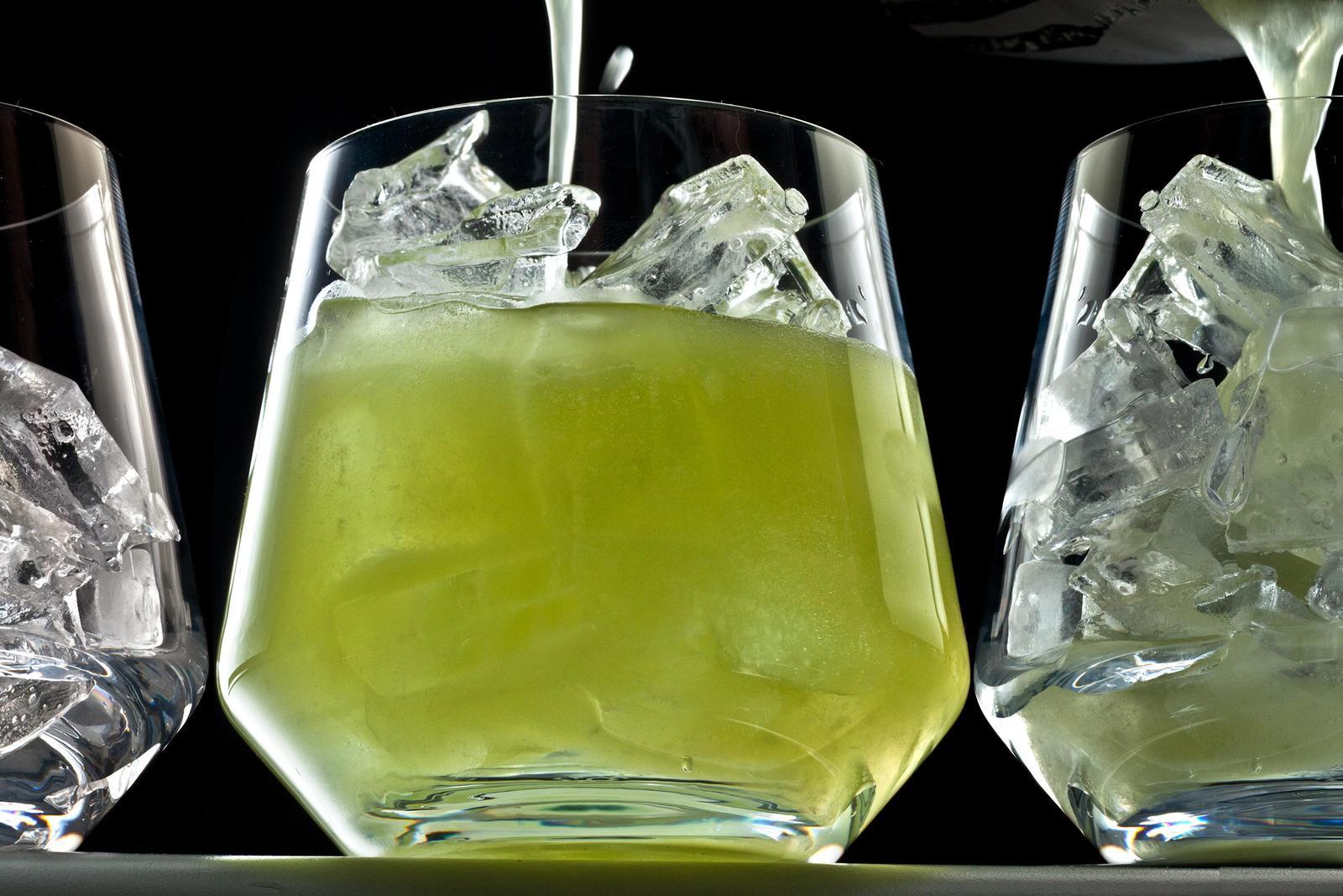 cocktail vin pétillant kiwi