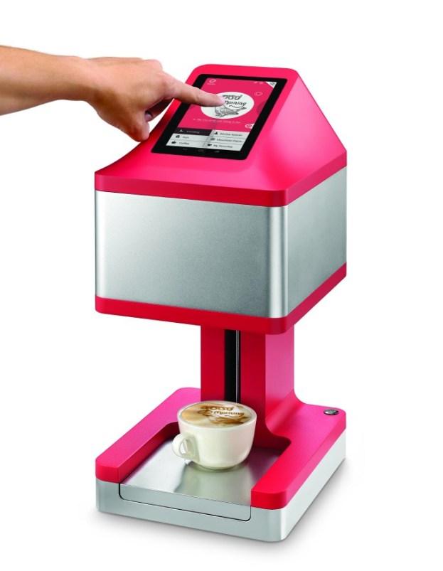 machine impression café