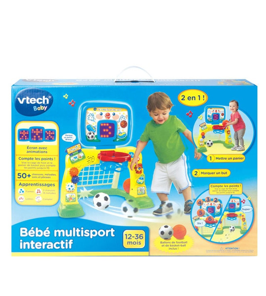 bebe multi sports interactif vtech