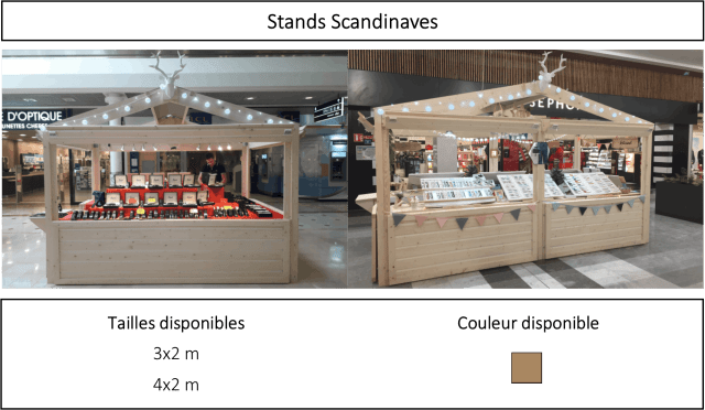 Stand scandinave