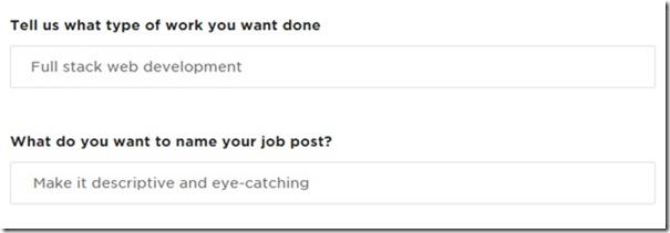 Comment publier une annonce sur Upwork pour un Freelance ?