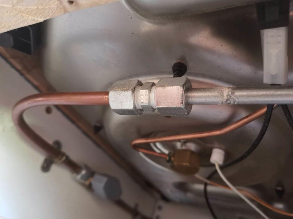 5 raccords gaz pour un circuit aux