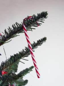 décorations du sapin de Noël