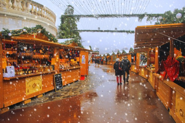 Le marché de Noël d'Annecy © French Moments