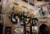 Somptueux décor de Noël de la Maison Georges Bruck (Foie Gras), rue des Orfèvres © French Moments