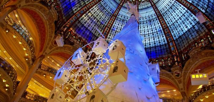 Sapin Noël Extra Polaire Galeries Lafayette Paris