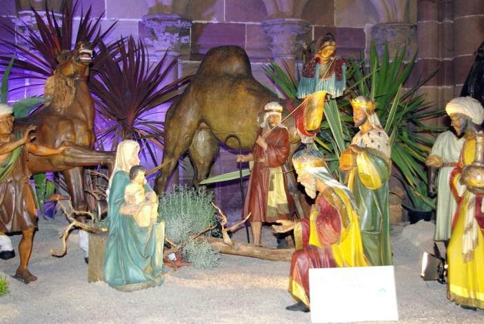 crèche de la cathédrale de Strasbourg