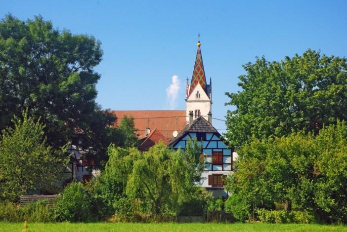 Bourg de Landser Sundgau Alsace