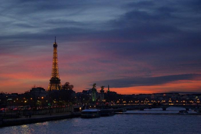 Pont de la Concorde Paris Tour Eiffel