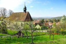 Photos de printemps en Alsace : Hirtzbach © French Moments