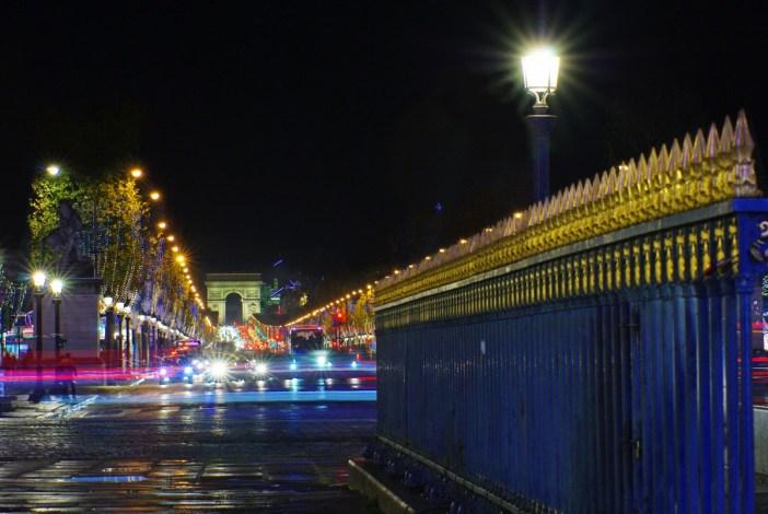 Champs-Élysées Place de la Concorde Paris