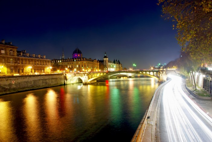 Quai de Gesvres Seine Paris