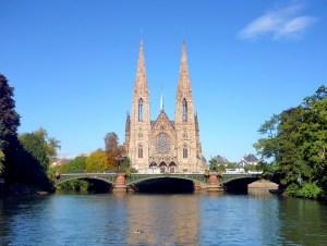 Strasbourg rivière Ill