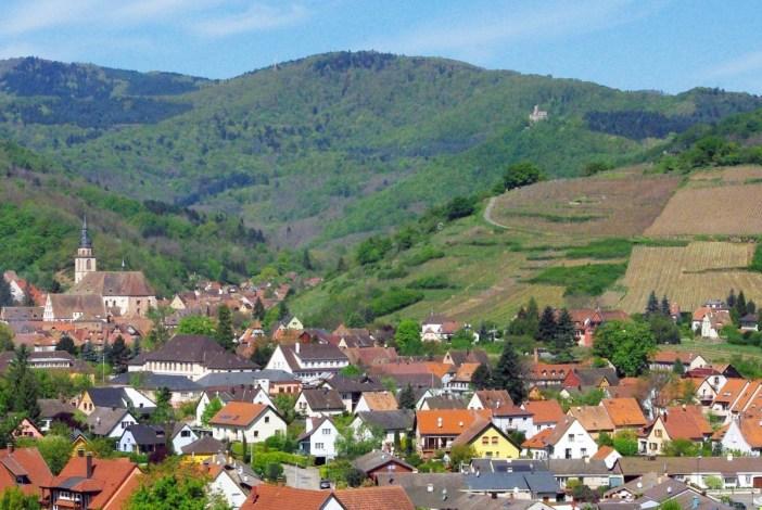Châteaux-forts d'Alsace Andlau