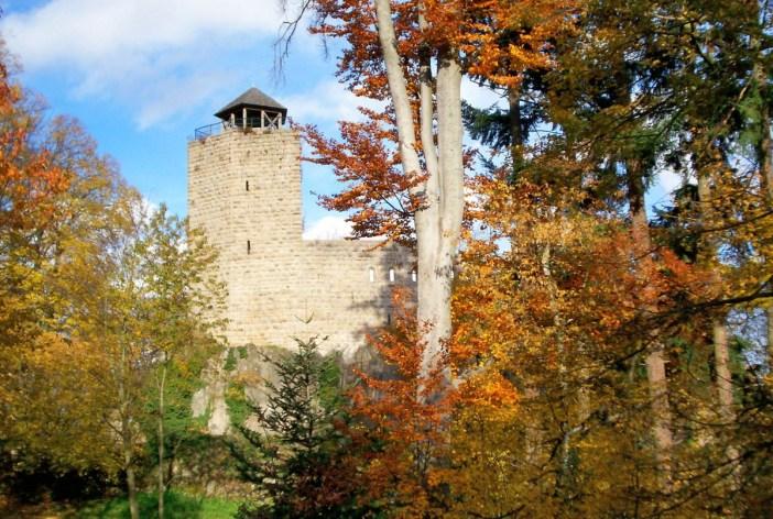 Châteaux-forts d'Alsace Bernstein