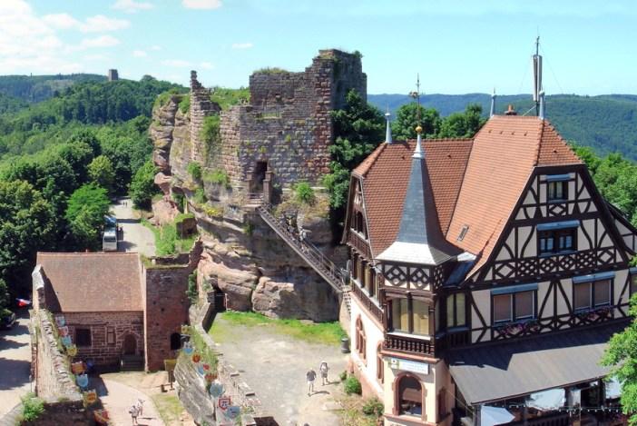 Châteaux-forts d'Alsace Haut-Barr