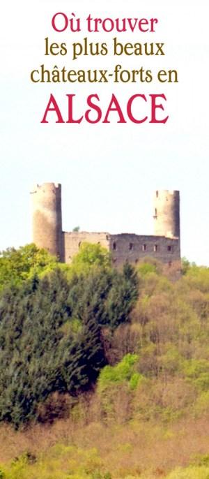 châteaux-forts en Alsace Haut-Andlau
