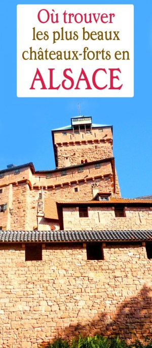châteaux-forts en Alsace Haut-Kœnigsbourg