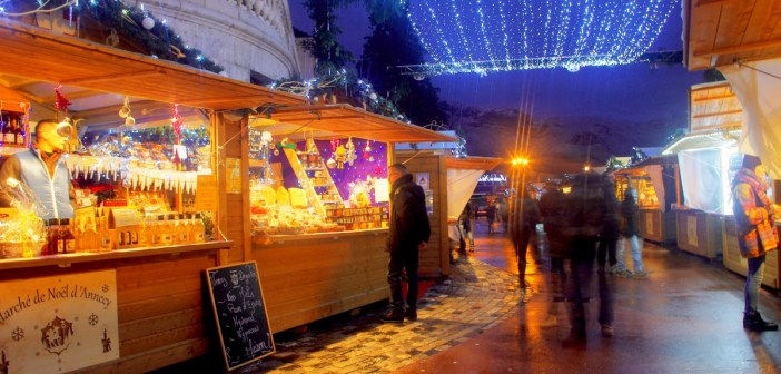 Marché de Noël d'Annecy © French Moments