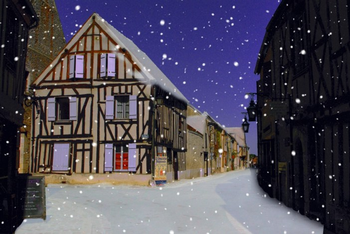 Provins sous la neige © French Moments