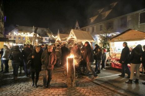 Marché de Noël de Bergheim © Office de Tourisme Pays de Ribeauvillé-Riquewihr