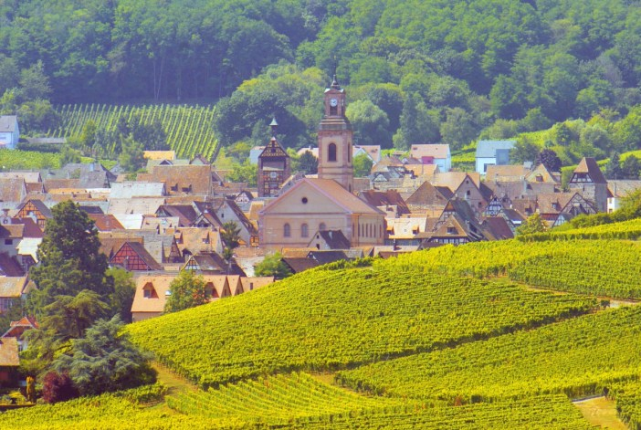 Villages d'Alsace - Riquewihr © French Moments