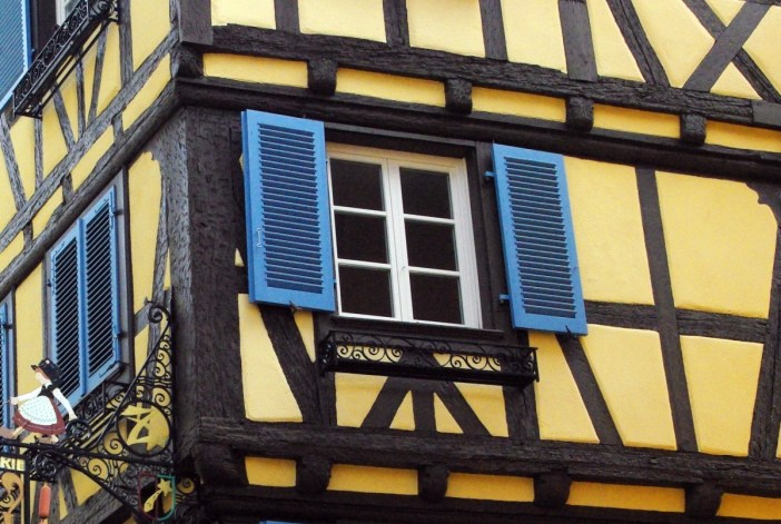 Colombages d'une maison à Colmar © French Moments