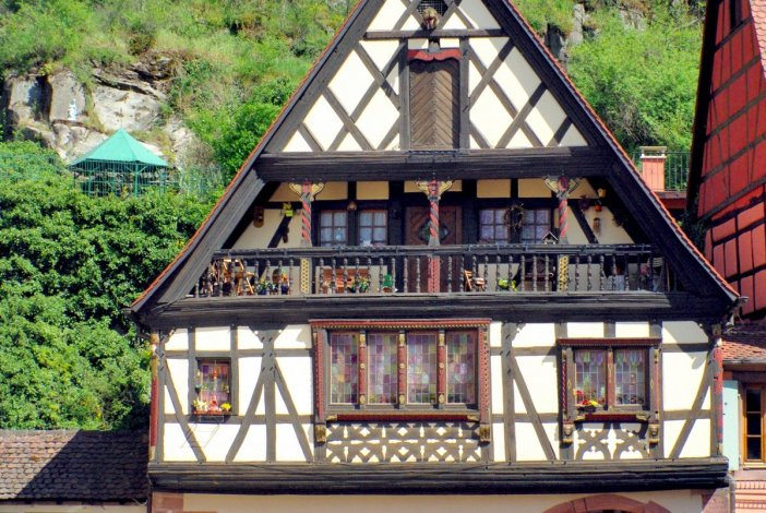 La maison du forgeron Michel Herzer à Kaysersberg © French Moments