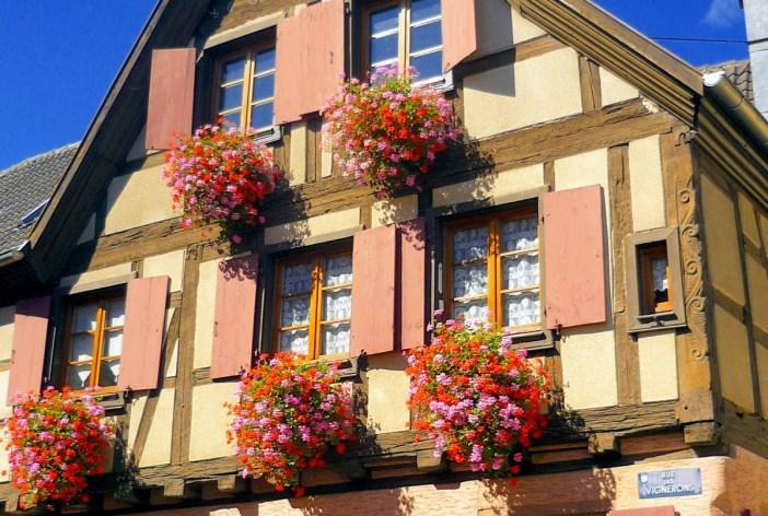Maison à colombages, Saint-Hippolyte © French Moments