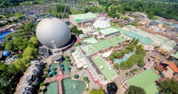Un des plus grands parcs d'attractions d'Europe : Europa Park © Ice Boy Tell - licence [CC BY-SA 4.0] from Wikimedia Commons